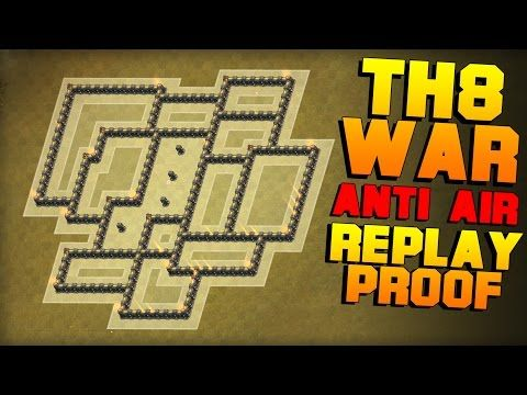 TH8 War Base 2017 With New Update || ANTi 3 Stars + ANTi GOVA + ANTi DRAGON || Clash Of Clans - YouTube