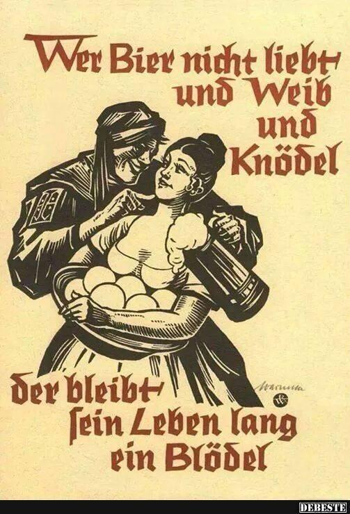 Wer bier nicht liebt lustige bilder spr che witze - Pinterest witze ...