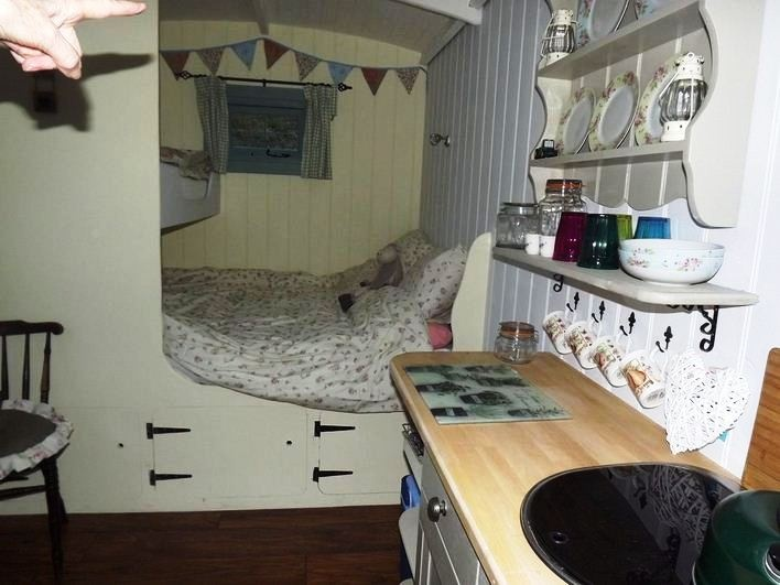 Shepherds Hut - Come Glamping On Exmoor | Westland Farm Yurts and Bed and Breakfast in North Devon on Exmoor Yurts in Devon
