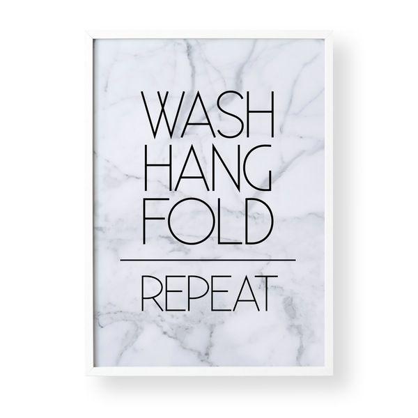 Image of Wash, Hang, Fold, Repeat