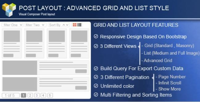Download – Advance Post Grid/List with custom filtering for