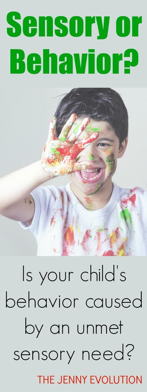 Sensory or Behavior? Try this FREE sensory checklist to figure out if your kid is just being a kid or if it's sensory | The Jenny Evolution