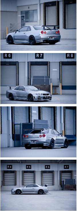 Nissan Skyline GTR R34 with Nismo Z-TUNE