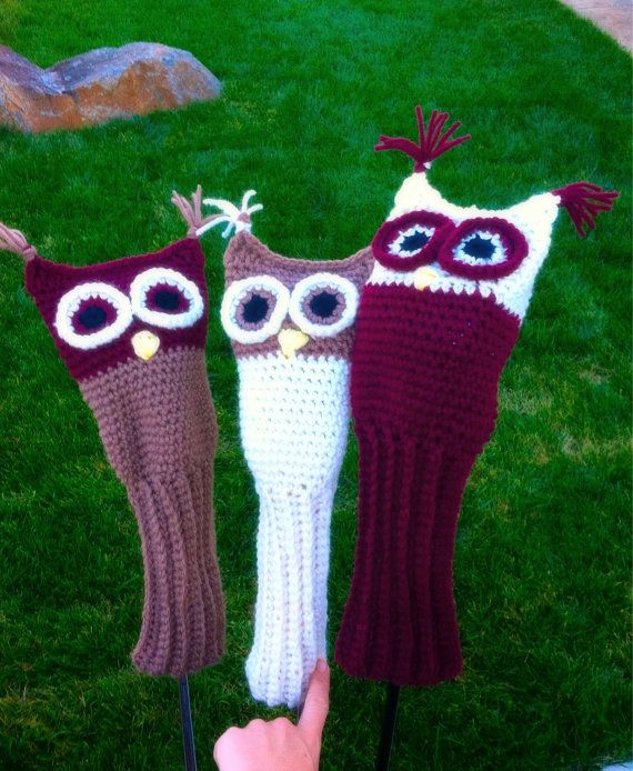 Amigurumi Golf Club Covers : 17 Best images about club covers on Pinterest Nfl san ...