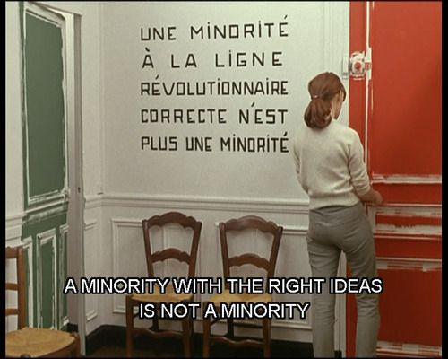 "Still from ""La Chinoise"", Jean-Luc Godard | #nouvellevague"
