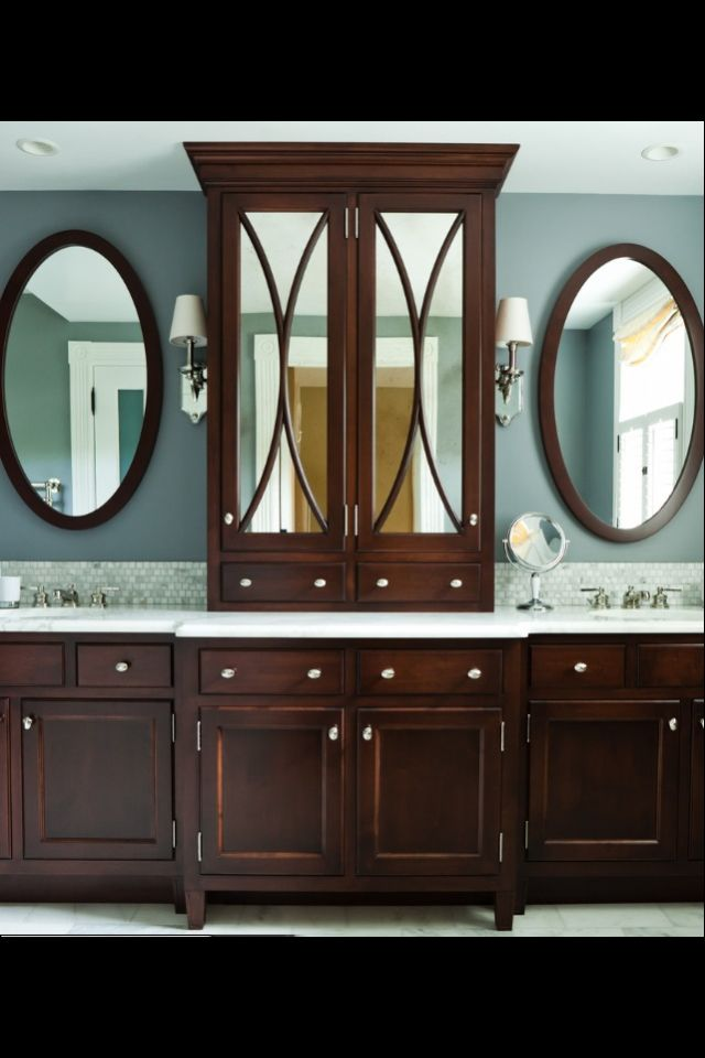 Mirrored Cabinet In Master Bath Arch Designs Pinterest