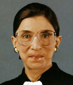 Supreme Court Justice Ruth Bader Ginsburg - died of pancreatic cancer June 27, 2010
