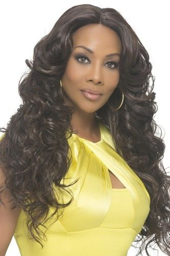 Vivica Fox Swiss Lace Front Wig SUNFLOWER