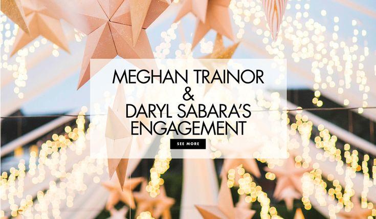 Meghan Trainor and Daryl Sabara are Engaged! Article: Singer Meghan Trainor and Actor Daryl Sabara Are Engaged! Photography: Samuel Lippke Studios Read More: http://www.insideweddings.com/news/celebrity-style/singer-meghan-trainor-and-actor-daryl-sabara-are-engaged/4160/