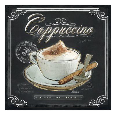 Coffee House Cappuccino Gicléedruk van Chad Barrett bij AllPosters.nl