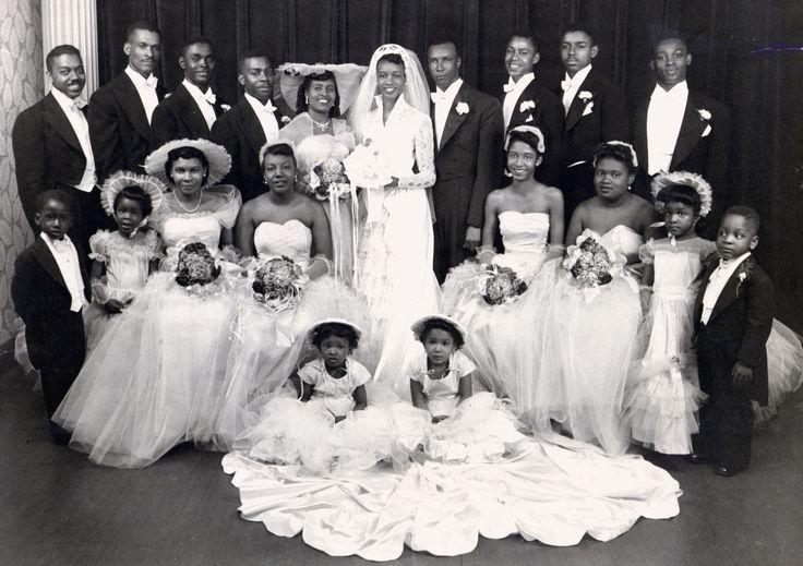 African American Weddings In The 1930s