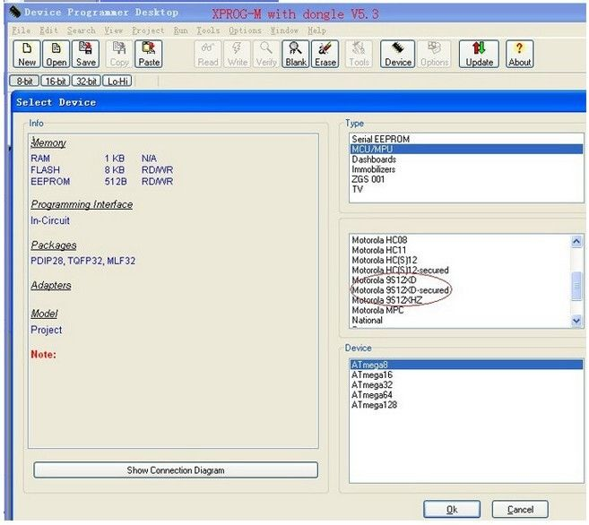 2012 Newest Version XPROG-M V5.3 Plus with Dongle