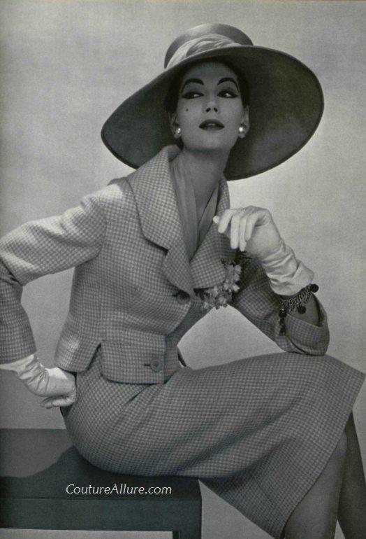 Pierre Balmain, 1957 –Couture Allure Vintage Fashion