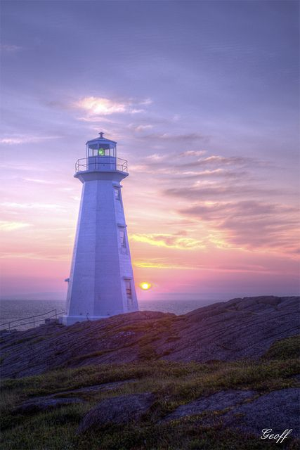 Cape Spear - Newfoundland, Canada.I want to go see this place one day. Please check out my website Thanks.  www.photopix.co.nz