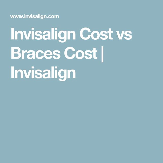 Invisalign Cost vs Braces Cost | Invisalign