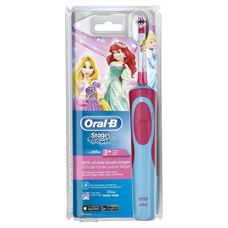 Oral-B Stages Power Kids Elektrische Kinderzahnbürste, im Disneys Prinzessinnen Design: Amazon.de: Drogerie & Körperpflege