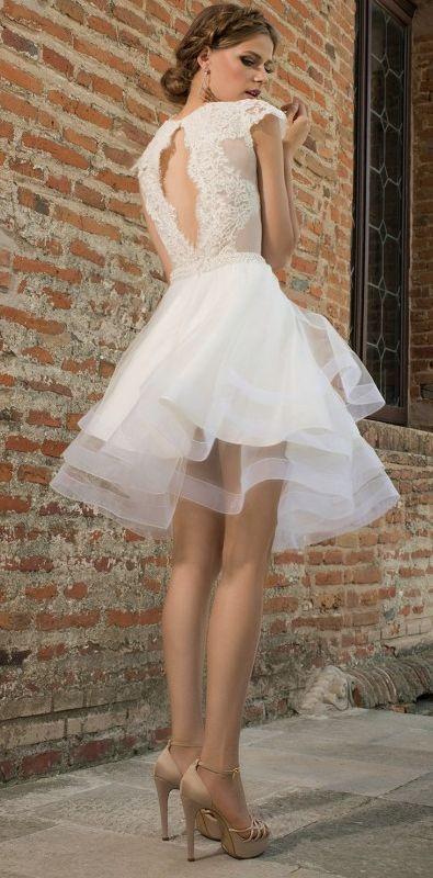 Wedding dress idea; Featured Dress: Bien Savvy