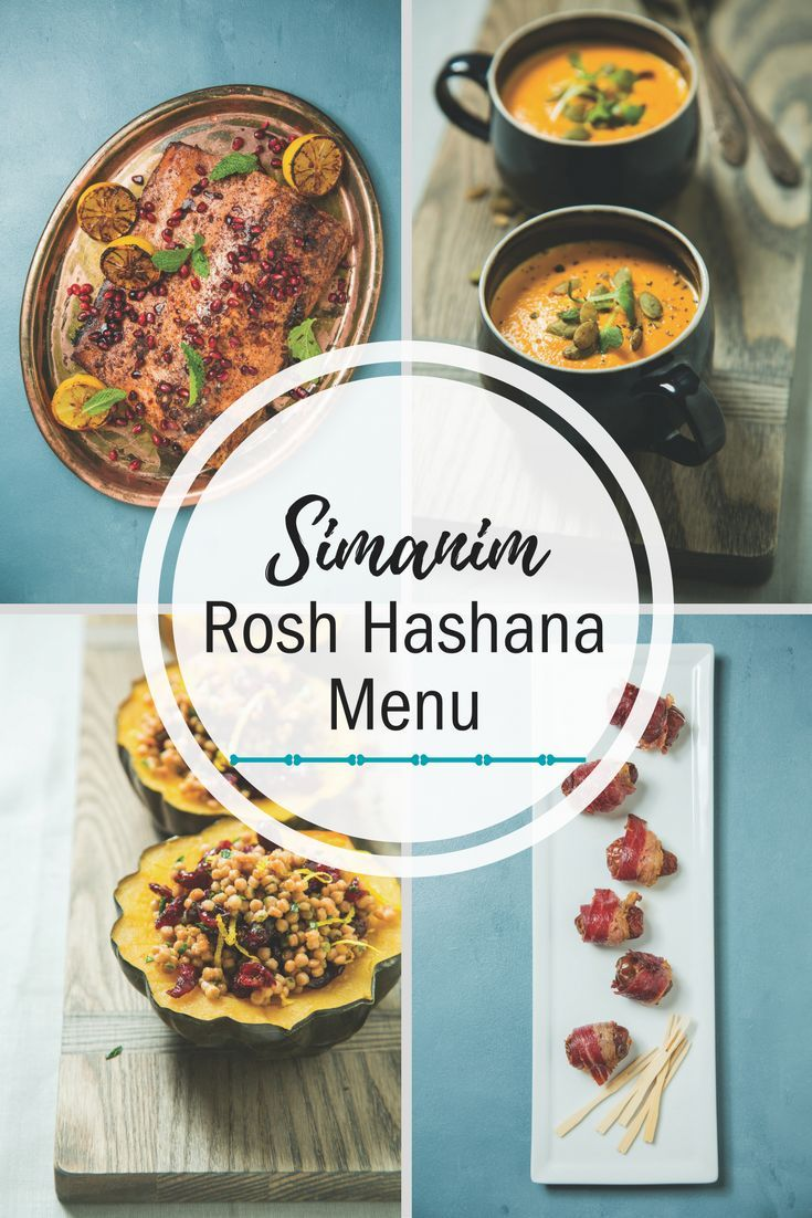 Simanim-laden dishes at your Rosh Hashanah feast are an incredible  conversation enhancer. It�s like a spiritual game of I Spy. You�re  welcome�for providing both the food and entertainment this year!