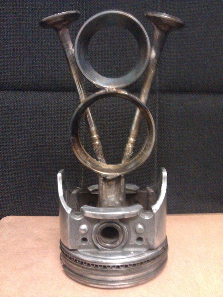 Car Club Trophy powder coated by B and B Powder Coating in Riverside, CA