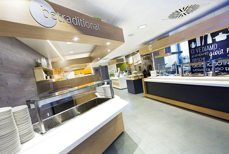 Área de comida tradicional.