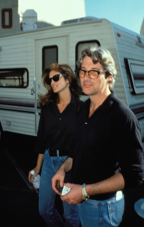 Richard Gere y Cindy Crawford matching outfits
