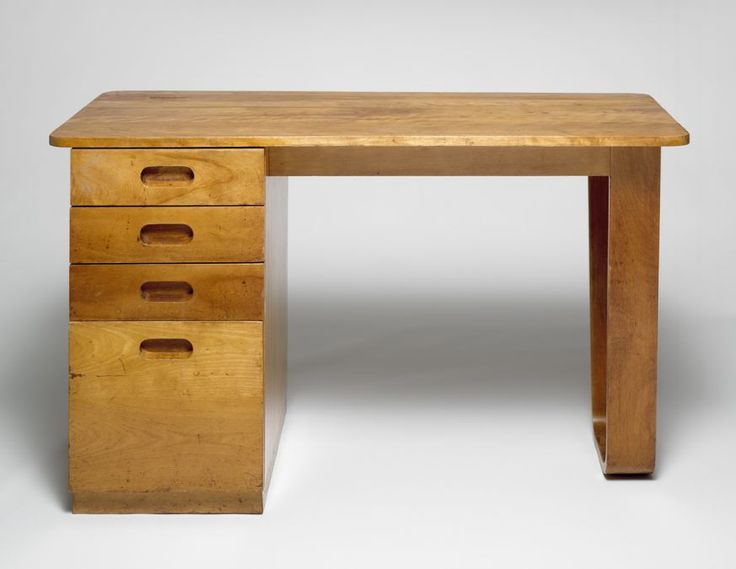 (Pictured: Marcel Breuer, Dormitory Furniture For Rhoads Hall, Bryn Mawr  College: Desk,