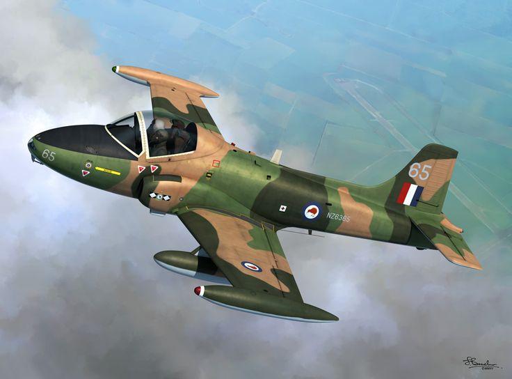 BAC Strikemaster Mk 88 RNZAF (Jerry Boucher)