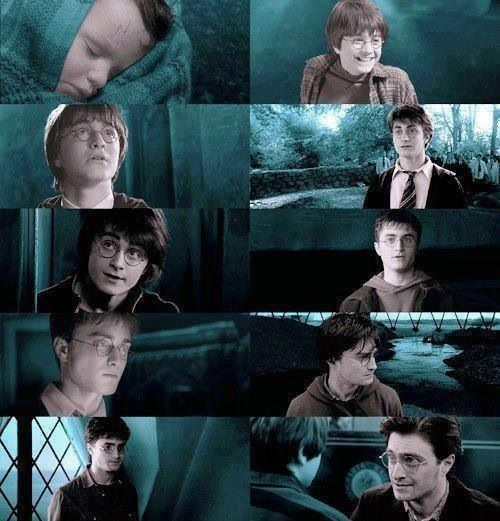 Harry Potter through the ages.