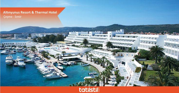 Huzur ve konfor dolu bir tatil! Altınyunus Resort & Thermal Hotel termal suyunun şifası ile kendinizi yeniden keşfedin...