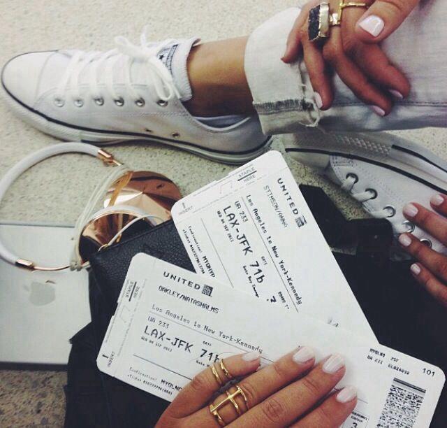 Beautiful travel photography. Airport photography. Passport tickets.