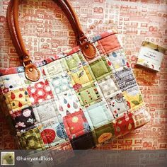 Made with 2 candy-packs of Basic Grey's Mon Ami. Apply this idea to a lap quilt, with a charm pack. Inspiration!