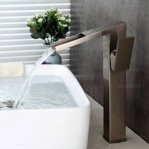 Integrating modern design with distinctive geometric shape, the Quad Tap Collection performs an impeccable blend of functionality, quality, and style. From Quad comes this bold and unique tall basin t