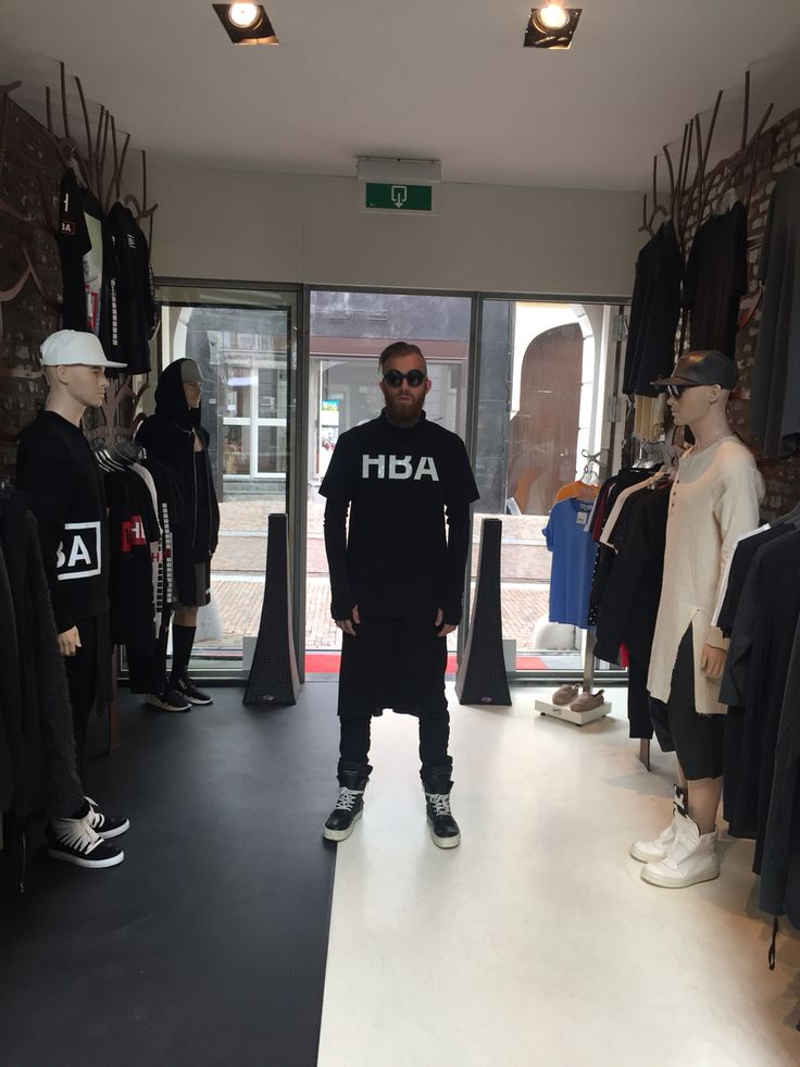 Timo hit our store in LABELSSTYLE