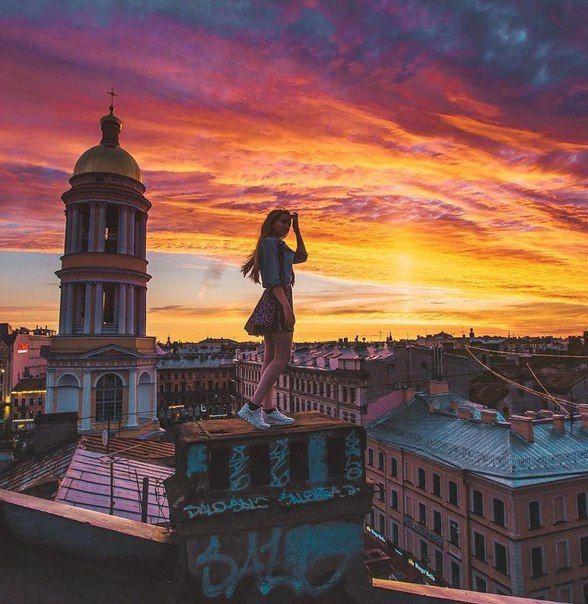 Красивых закатов, Петербург