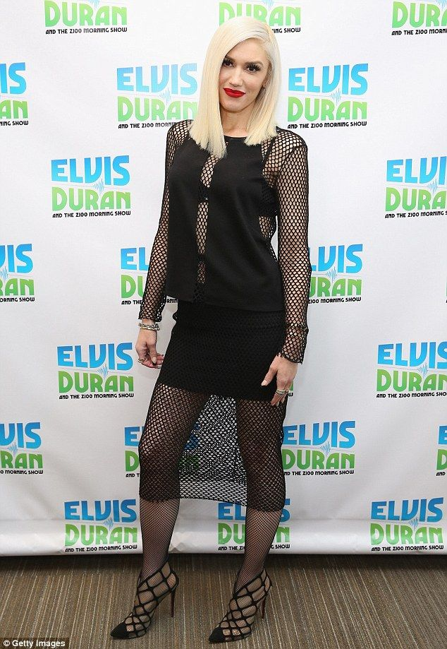 Candid: Gwen Stefani stopped by Elvis Duran's morning show on Thursday in New York City, and discussed her split from Gavin Rossdale