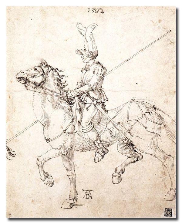 Reprodukcja Albrecht Durer kod obrazu durer93