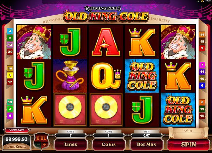 Rhyming Reels - Old King Cole on hyvää Microgaming kolikkopeli netissä! Jos…