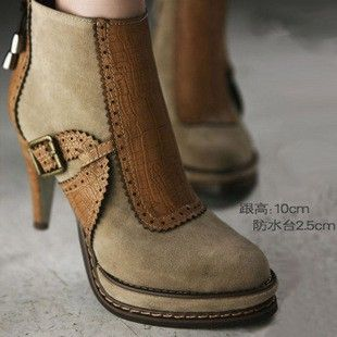 perfect!!!Shoes, Snow Boots, Style, Clothing, Ankle Boots, Heels, Fancy Feet, Brown Boots, Japan Fashion