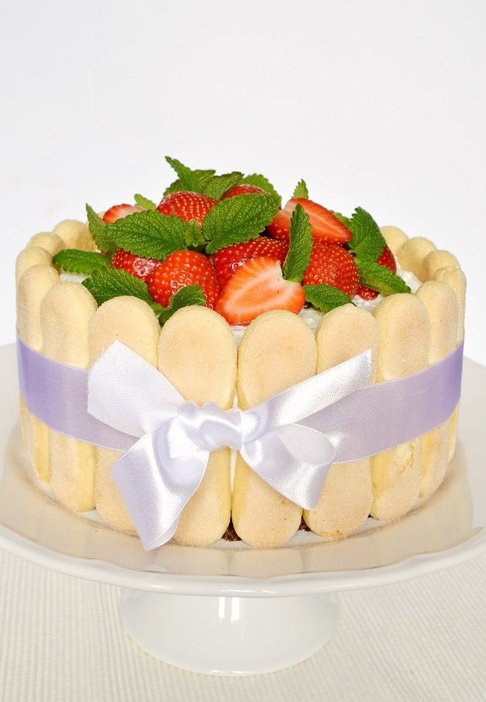Citromhab: Epres charlotte torta