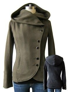 amazing coat - prefer the gray or navy to the brown/tan one