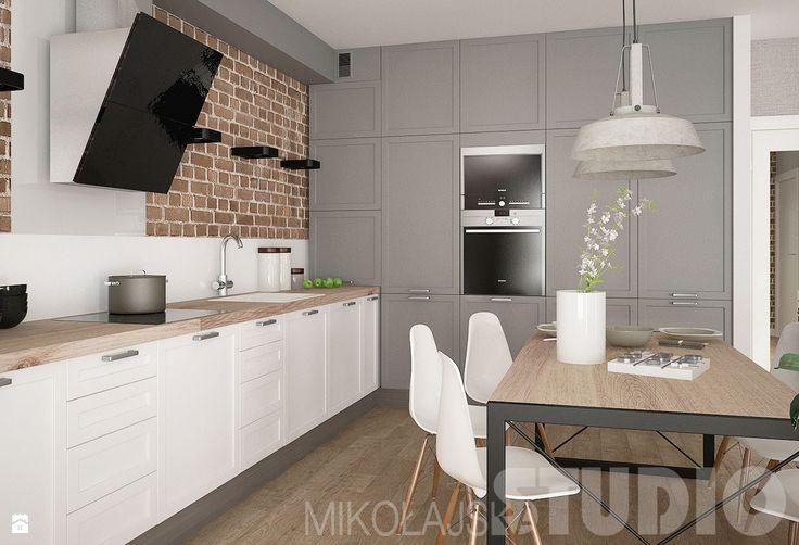 Kuchnia - zdjęcie od MIKOŁAJSKAstudio - Kuchnia - Styl Skandynawski - MIKOŁAJSKAstudio