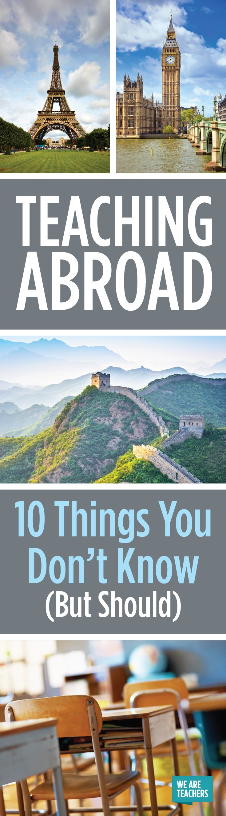 Teaching Abroad: 10 Things You Don't Know (But Should) - WeAreTeachers
