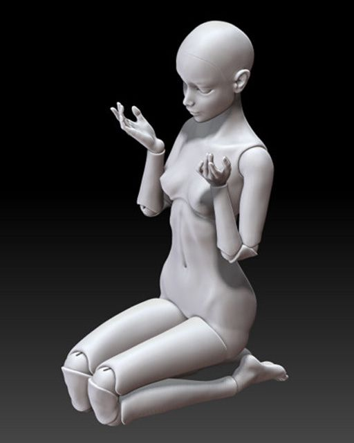 Шарнирные куклы своими руками, мастер класс, описание, как сделать