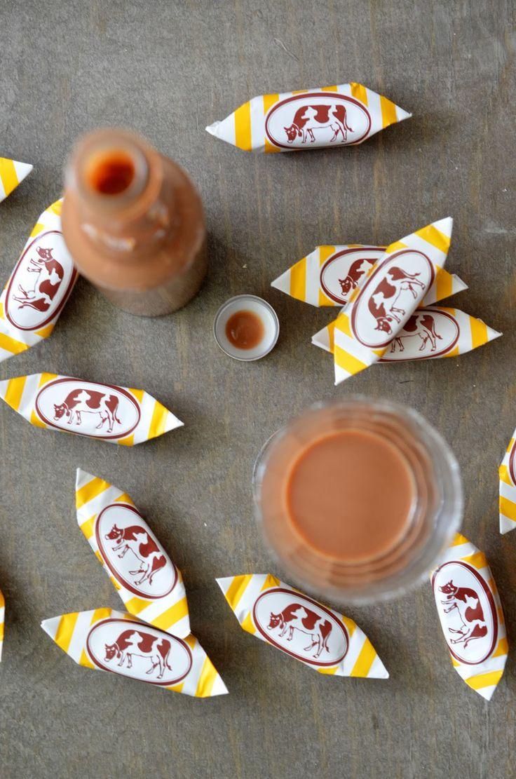 Ninas kleiner Food-Blog: Muh-Muh-Likör mit Schokolade
