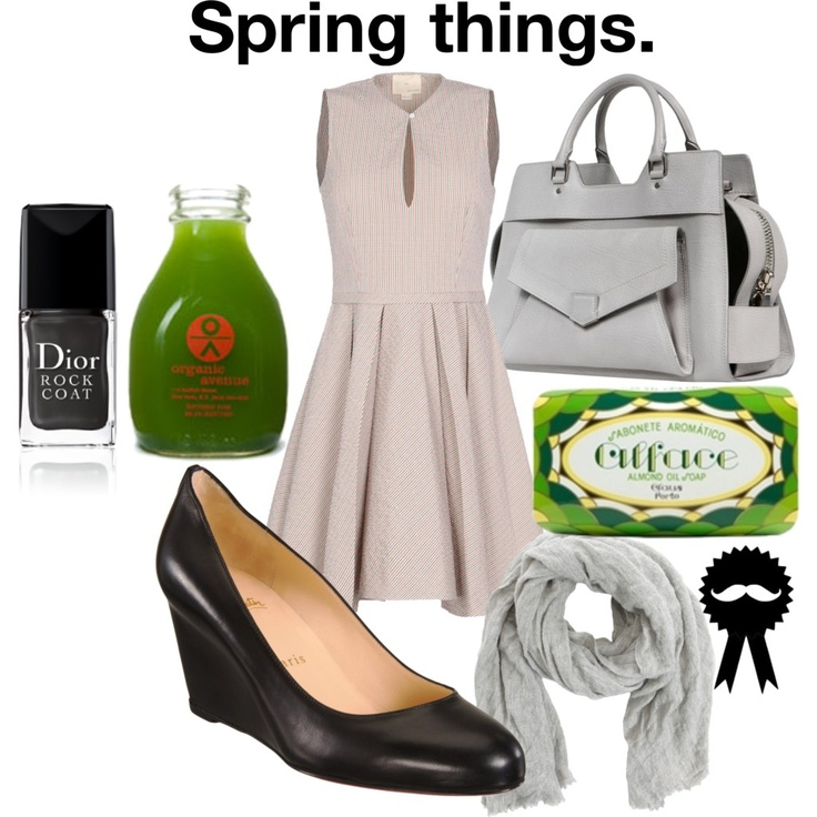#whatwouldbelwear: Spring things.