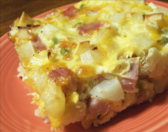 Low Fat Hash Browns Casserole from Food.com:   								A breakfast casserole for those of us who should avoid the regular high fat sort.
