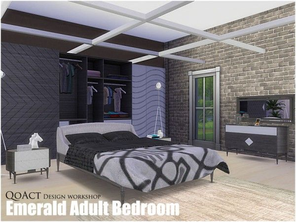 17 best images about sims 4 cc furniture on pinterest for Bedroom designs sims 4