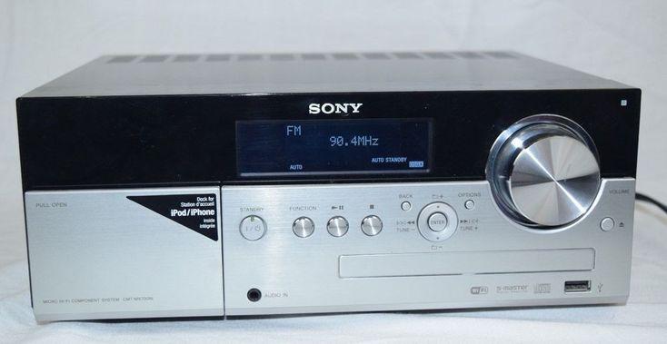 Sony HCD-MX700Ni Micro Hi/Fi CD Receiver/Player iPod Dock Wi/Fi Internet Radio #Sony
