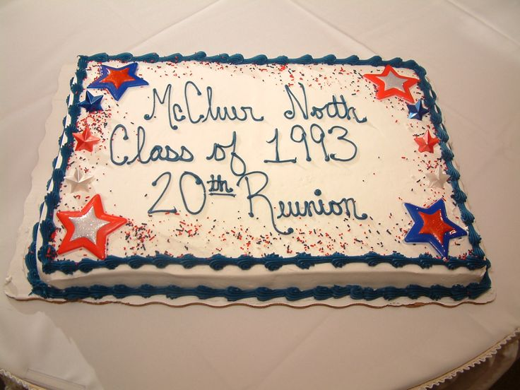1000+ images about Class reunion cake ideas on Pinterest ...