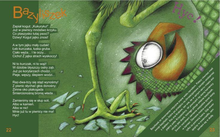 "Jolanta Marcolla - ilustracje do książki Anety Noworyty ""Strachy na Lachy"""